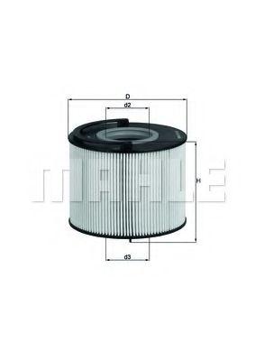 Фильтр топливный Mahle MAHLEORIGINAL KX192D