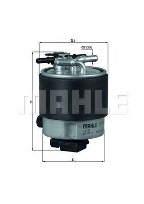 Фильтр топливный MAHLEORIGINAL KL44019
