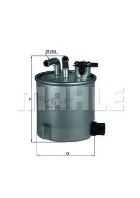 Фильтр топливный MAHLEORIGINAL KL4406