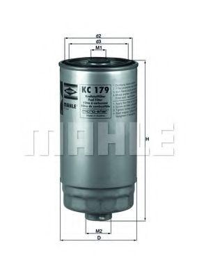 Фильтр топливный Mahle  арт. KC179