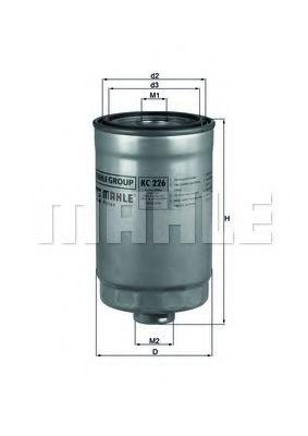 Фильтр топливный Mahle  арт. KC226