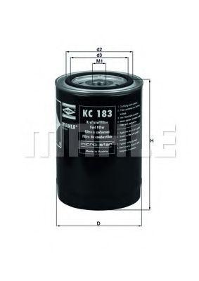 Фильтр топливный Mahle MAHLEORIGINAL KC183