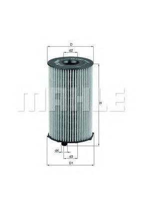 Масляный фильтр  арт. OX2052D