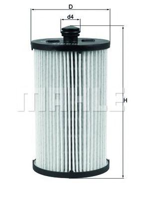 Фильтр топливный MAHLEORIGINAL KX222D