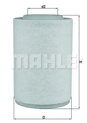 FILTR POWIETRZA KNECHT/MAHLE LX 3286 ALFA ROMEO GIULIETTA 10-  арт. LX3286