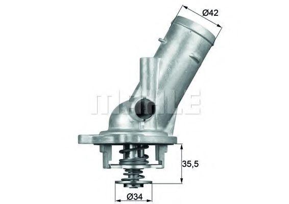 TM1087  Mahle - Термостат MAHLEORIGINAL TM1087