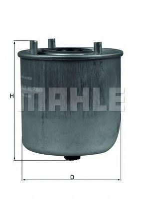 Фильтр топливный Mahle  арт. KL780