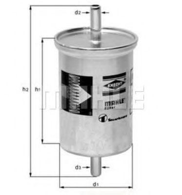 Фильтр топливный  арт. KL2