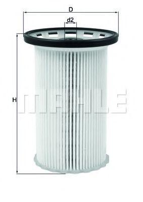 Фильтр топливный Mahle MAHLEORIGINAL KX342