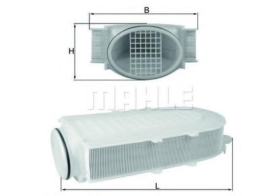 Фільтр повітря  арт. LX29911