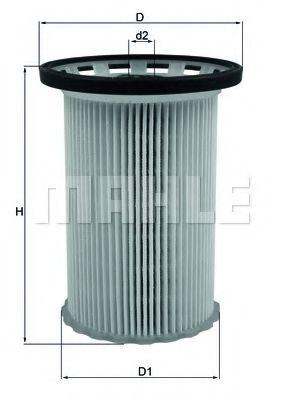 Фильтр топливный Mahle MAHLEORIGINAL KX341