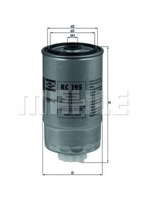 Фильтр топливный Mahle KC196  арт. KC195