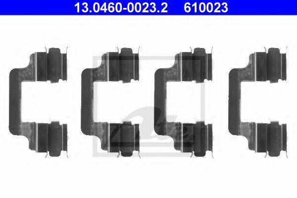 Аксессуары Пружинки для гальмівних колодок (к-кт 4шт)  арт. 13046000232