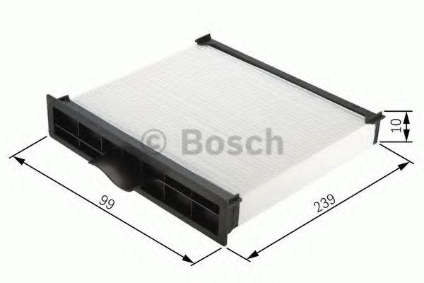BOSCH M2161 Фильтр салона HYUNDAI Accent 99-, Getz 02-. BOSCH 1987432161