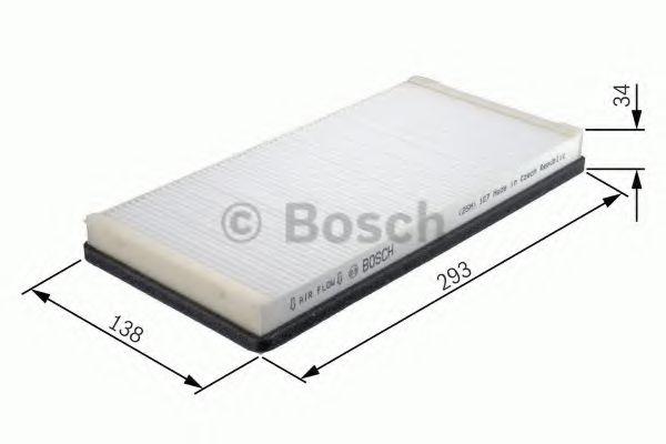 BOSCH  M2219 К-т фильтр салона  BMW E70 (2шт.) BOSCH 1987432219