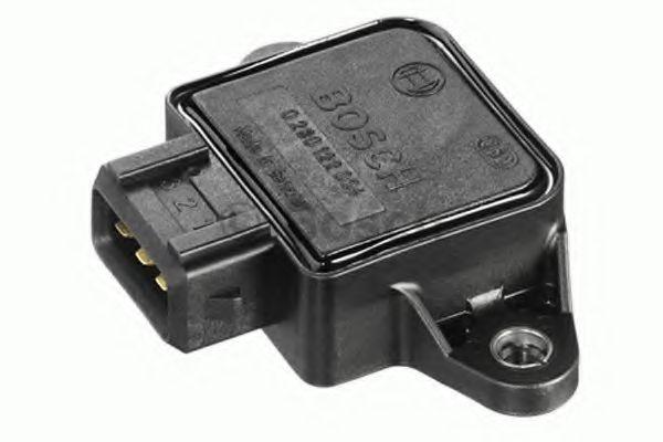 Датчик положения дроссельной заслонки ГАЗ 3110, УАЗ, Шеви-Нива (пр-во Bosch)                          арт. 0280122001