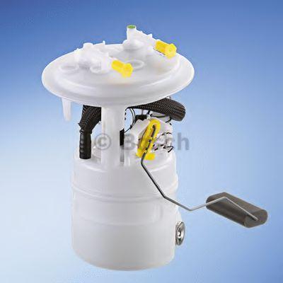 BOSCH Электро-бензонасос (модуль погружной) C5,C6,407 BOSCH 0986580142