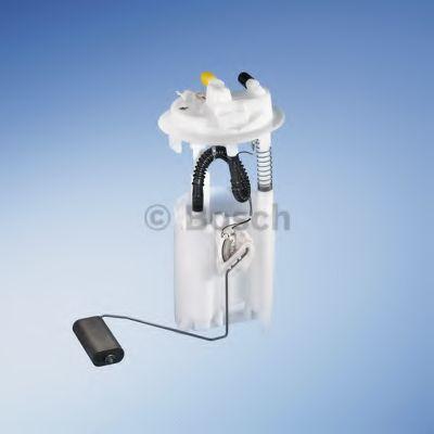 BOSCH Корпус электро-бензонасоса с датчиком уровня  CITROEN Berlingo 1,9D 02- PEUGEOT Partner BOSCH 0986580291