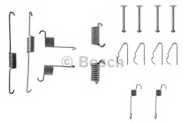 Автоаксессуары Bosch FIAT К-т установочный зад. торм колодок MITSUBISHI  арт. 1987475170