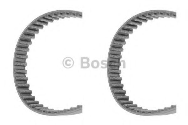 Комплект ГРМ Ремни зубчатые (к-т 2шт) Z=58/Z=130 AUDI A2 1,4; VW 1,4/1,6: Golf IV, Polo; SKODA 1,4; SEAT BOSCH арт. 1987949190
