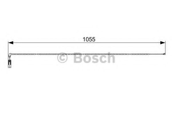 Датчик зносу гальмівних колодок  арт. 1987473001