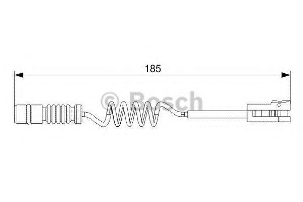 Автоаксессуары Датчик износа колодок MB SPRINTER, VW LT TDi (пр-во Bosch)                                            арт. 1987473007