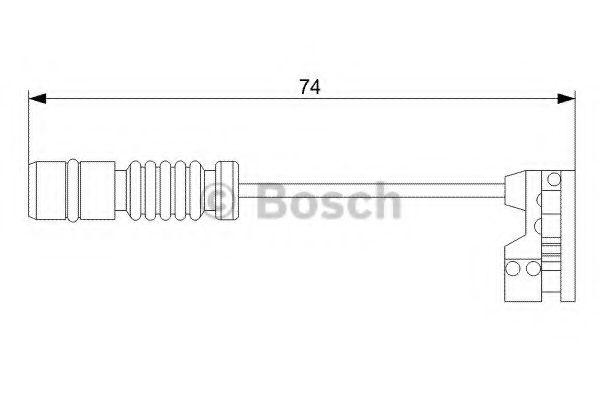 Автоаксессуары BOSCH DB Датчик тормозной Колодки W210 E420  арт. 1987473008