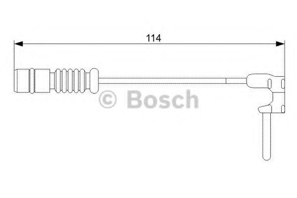 Автоаксессуары BOSCH  DB Датчик торм.кол. задних M-класс (W163) -05  арт. 1987473011
