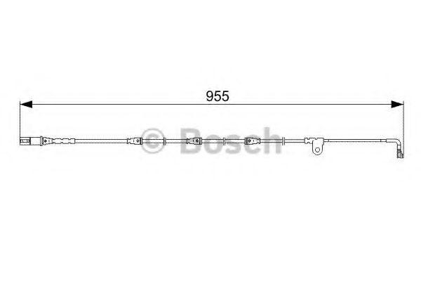Датчик износа накладок, спереди BMW (пр-во Bosch)                                                     арт. 1987473028