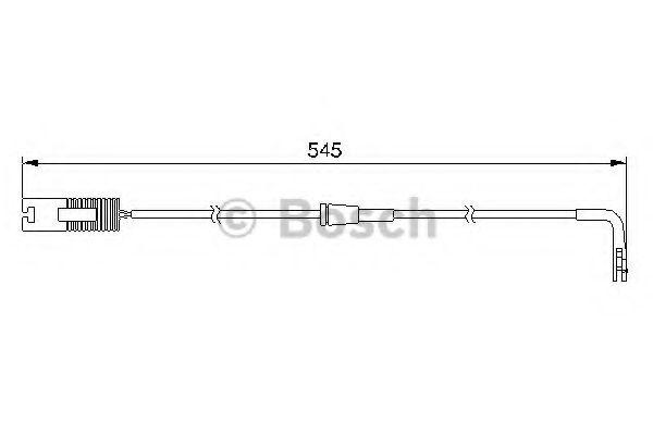 Датчик зносу гальмівних колодок  арт. 1987474940