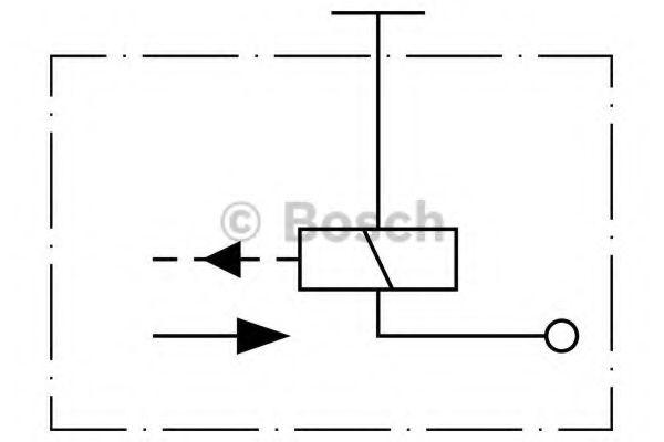 BOSCH Прижимной/подающий электро-магнит ТНВД BOSCH 0330001004