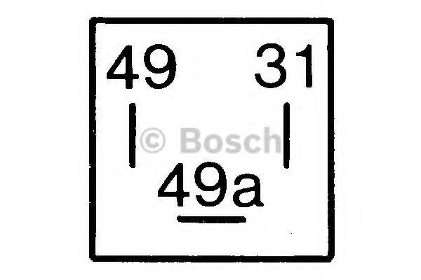 Реле поворотов ВАЗ 2108-099-10 (пр-во Bosch)                                                          арт. 0335200038