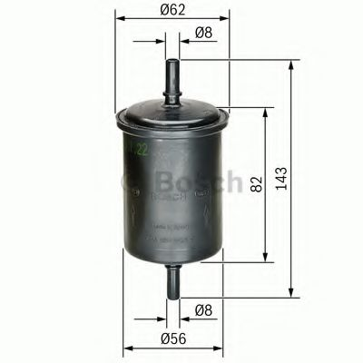 Фильтр топливный Bosch  арт. 0450902161