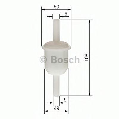 Топливный фильтр бенз  арт. 0450904159