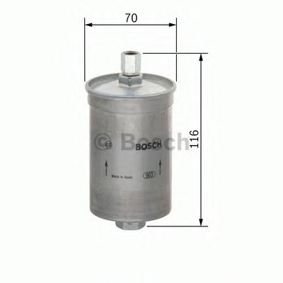 Топливный фильтр  арт. 0450905912