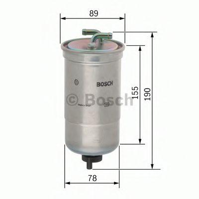 Фільтр палива BOSCH 0450906442