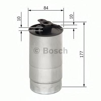Фільтр палива BOSCH 0450906451