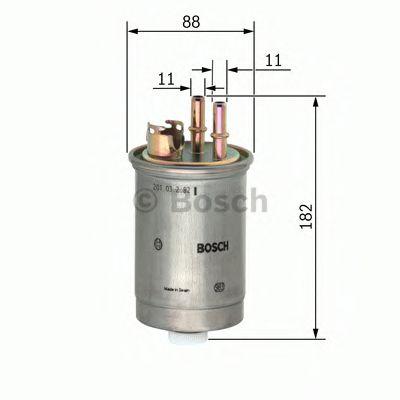 Фільтр палива BOSCH 0450906452