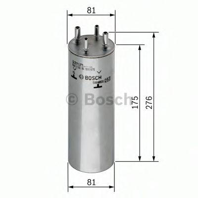 Фільтр палива BOSCH 0450906467