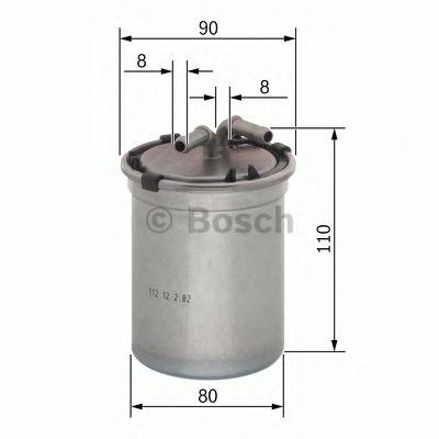 Фільтр палива BOSCH 0450906500
