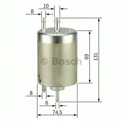 Фільтр палива BOSCH 0450915001