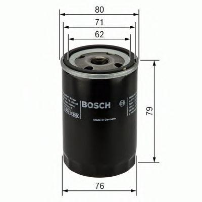 Фильтр масляный (пр-во Bosch) MAHLE/KNEСHT арт. 0451102056