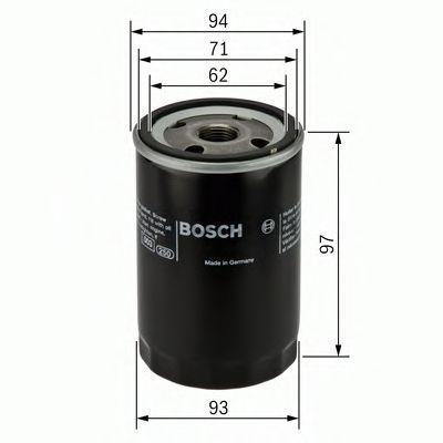 Фильтр масляный Bosch  арт. 0451103029