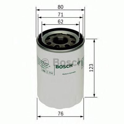 Масляный фильтр  арт. 0451103074