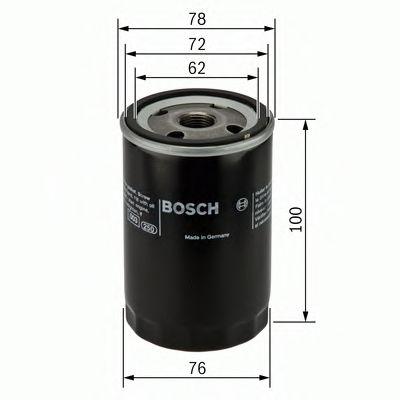 Фильтр масляный OPEL ASTRA F 1.7D (пр-во Bosch)                                                      BOSCH арт. 0451103232
