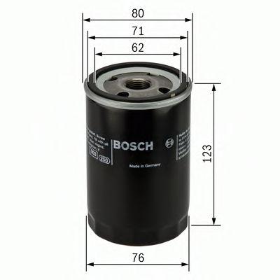 Фильтр масляный CHRYSLER, JEEP (пр-во Bosch)                                                          арт. 0451103258