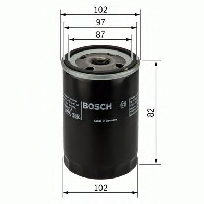 Фильтр масляный Bosch  арт. 0451103270