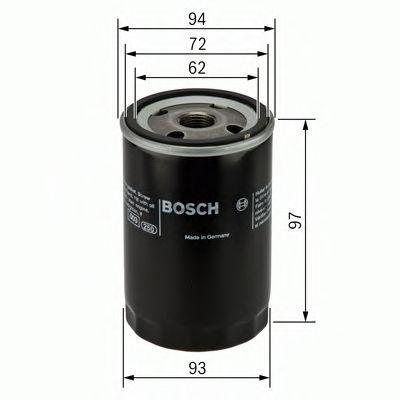 Фильтр масляный Bosch  арт. 0451103333