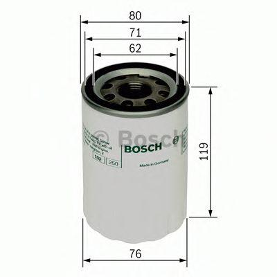 Масляный фильтр  арт. 0451103335