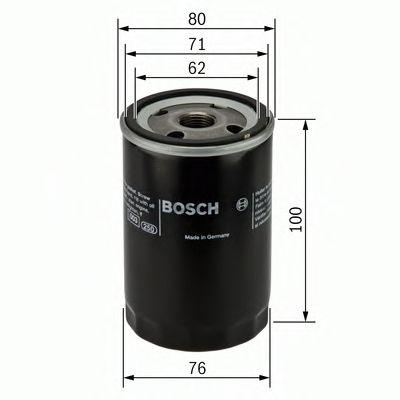 Фильтр масляный Bosch  арт. 0451103367